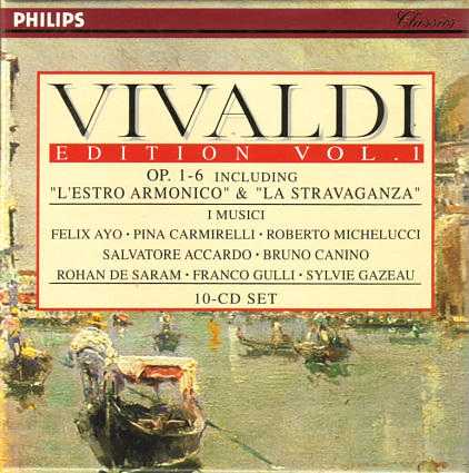 Vivaldi Edition, Vol.1 (10 CD box set, FLAC)