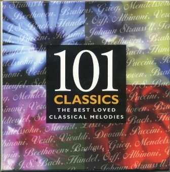 101 Classics: The Best Loved Classical Melodies (8 CD box set, APE)