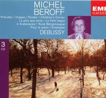 Beroff: Debussy: Works For Piano (3 CD box set, APE)
