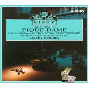 Gergiev: Tchaikovsky - Pique Dame, 1992 (3 CD, FLAC)