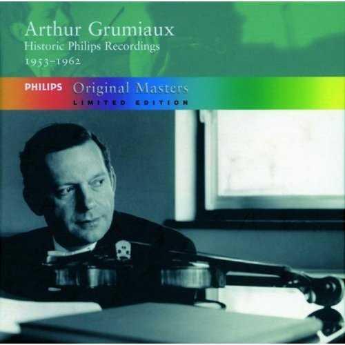 Arthur Grumiaux - Historic Philips Recordings, 1953-1962 (5 CD box set, APE)