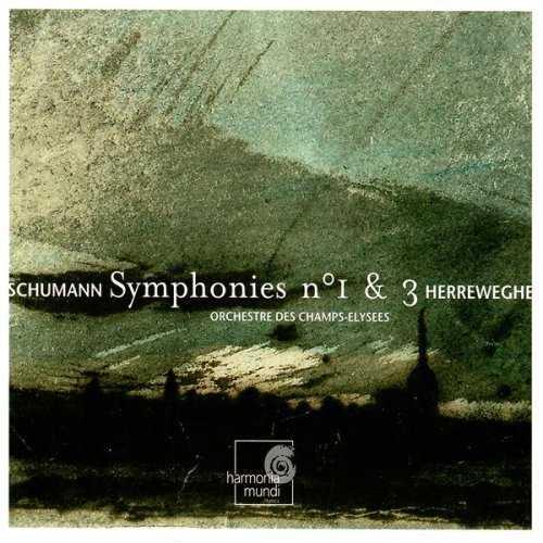 Herreweghe: Schumann - Symphonies nos. 1, 3 (APE)