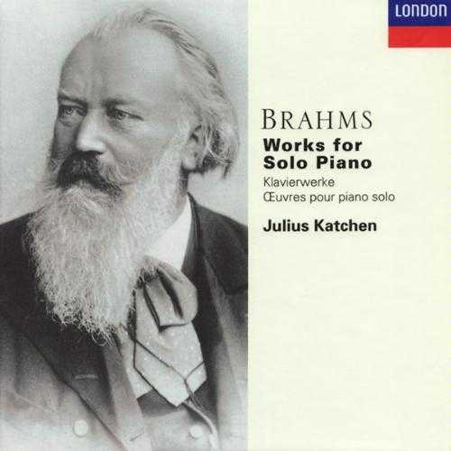 Katchen: Brahms - Works for Solo Piano (6 CD box set, FLAC)