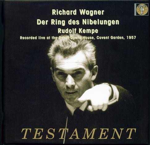 Kempe: Wagner - Der Ring des Nibelungen (13 CD box set, APE)