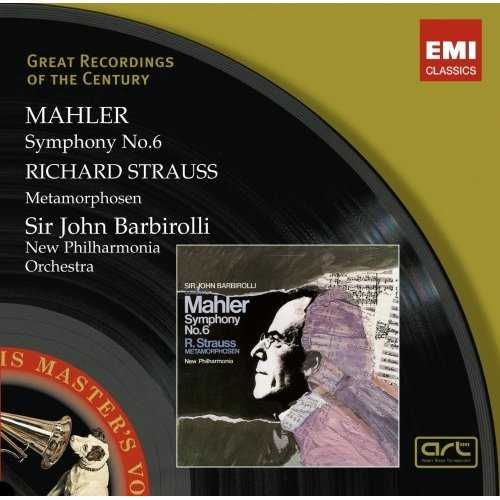 Mahler - Symphony no.6; Richard Strauss - Metamorphosen (2 CD, FLAC)
