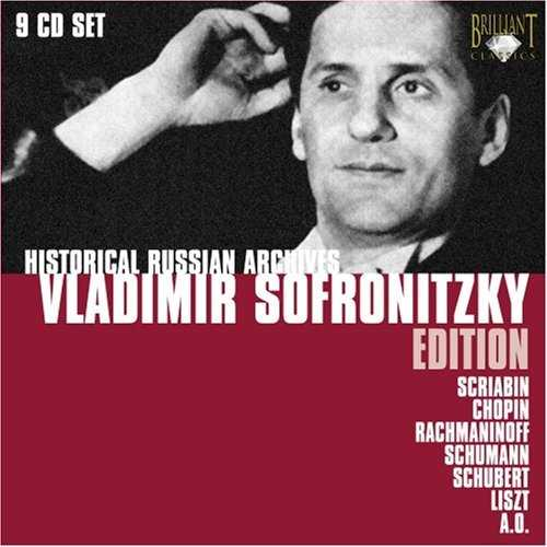 Vladimir Sofronitsky Edition (9 CD box set, APE)