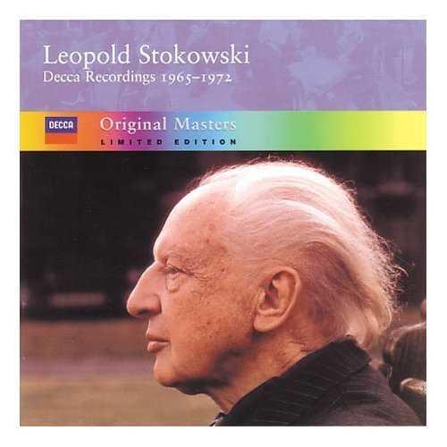 Leopold Stokowski - Decca Recordings, 1965-1972 (5 CD box set, FLAC)