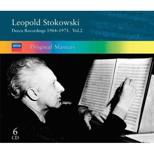 Leopold Stokowski – Decca Recordings vol.2, 1964-1975 (6 CD box set, FLAC)