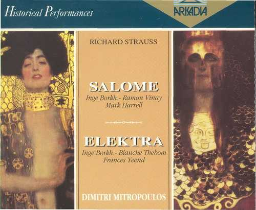 Mitropoulos: Strauss - Salome, Elektra (3 CD box set, APE)