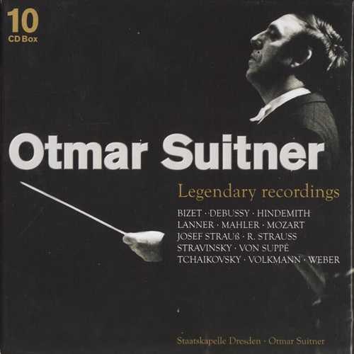 Legendary Recordings of Otmar Suitner (10 CD box set, FLAC)