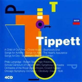 Michael Tippett - Vocal Music (4 CD box set, FLAC)