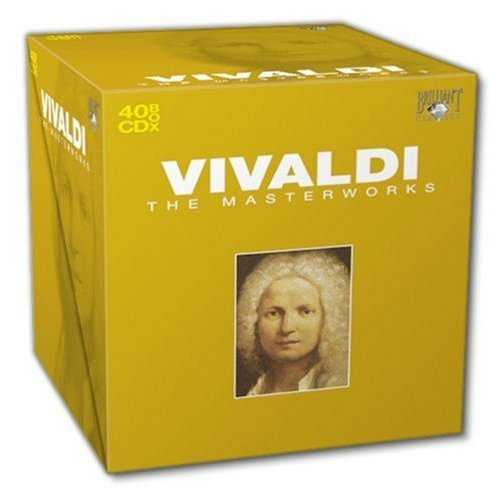 Vivaldi - The Masterworks (40 CD box set, FLAC)