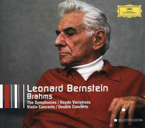 Leonard Bernstein Conducts Brahms, Collectors Edition (5 CD box set, APE)