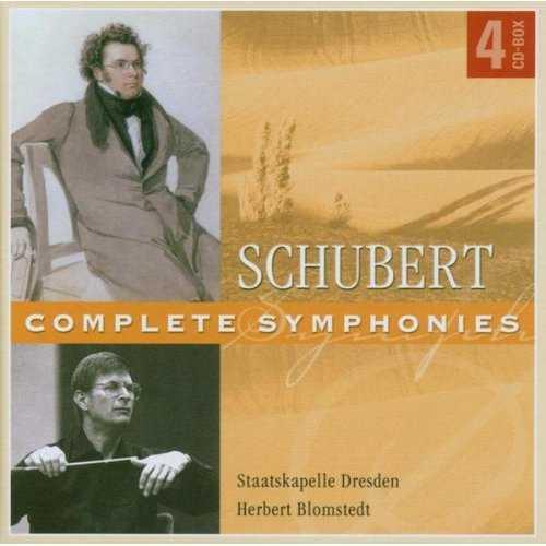 Blomstedt: Schubert - Complete Symphonies (4 CD box set, FLAC)