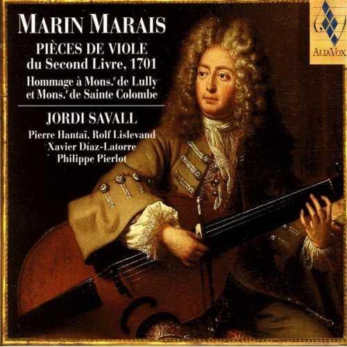 Jordi Savall: Marin Marais - Pieces De Viole Du Second Livre, 1701 (FLAC)