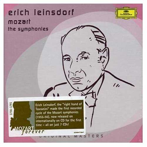 Leinsdorf: Mozart - The Symphonies (7 CD box set, APE)