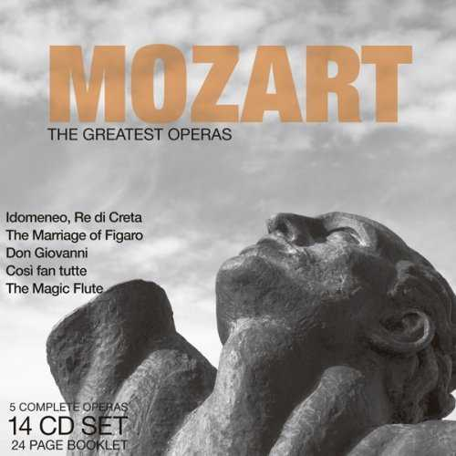 Mozart - The Greatest Operas (14 CD box set, APE)