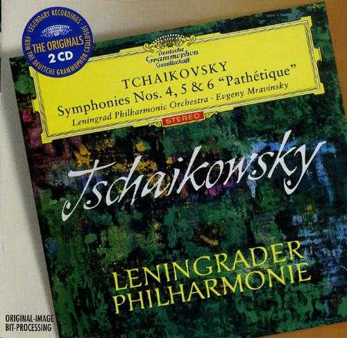 "Mravinsky: Tchaikovsky - Symphonies Nos. 4, 5, 6 ""Pathétique"" ( 2 CD, APE)"