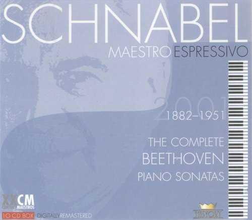 Schnabel - Maestro Espressivo, Vol. 1 (10 CD box set, APE)
