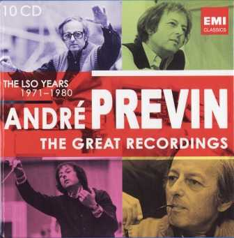 André Previn: The Great Recordings (10 CD box set, APE)