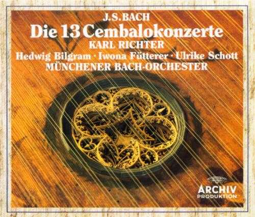 Richter: Bach - Complete Concertos Harpsichords (3 CD box set, APE)