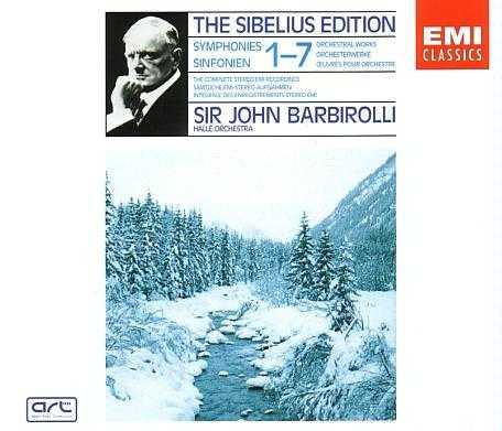 Barbirolli: Sibelius - Symphonies no.1-7 (5 CD box set, APE)