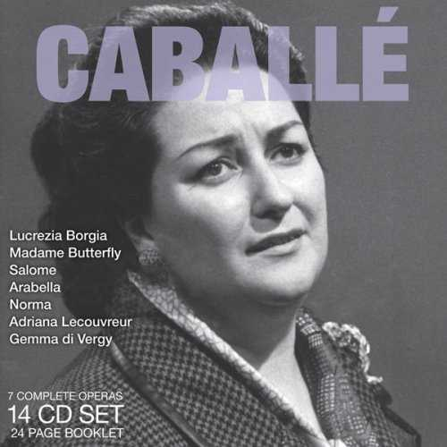 Legendary Performances of Caballé (14 CD box set, APE)