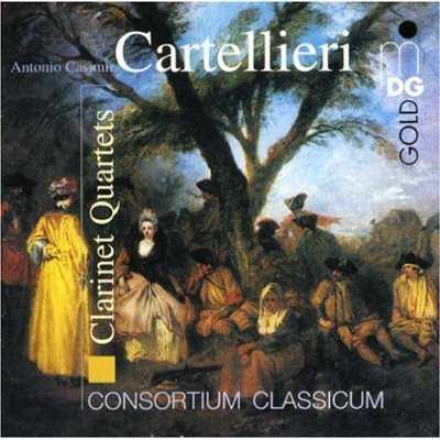Cartellieri: Clarinet Quartets (FLAC)