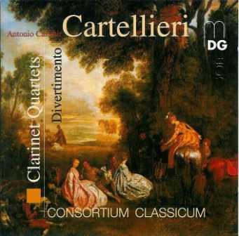 Cartellieri: Clarinet Quartets; Divertimento (FLAC)