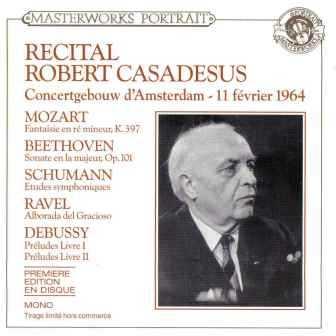 Robert Casadesus - Recital Concertgebouw Amsterdam, 1964 (FLAC)