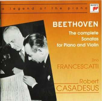 Casadesus, Francescatti: Beethoven - Complete Sonatas for Violin and Piano (3 CD, FLAC)