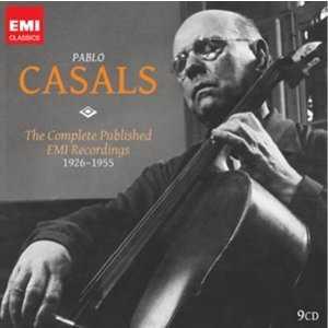 Pablo Casals: The Complete Published EMI Recordings (9 CD box set, FLAC)