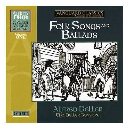 Alfred Deller: Fols Songs and Ballads. Vol.1 (7 CD box set, FLAC)