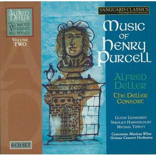 Alfred Deller: Music of Henry Purcell. Vol.2 (6 CD box set, FLAC)