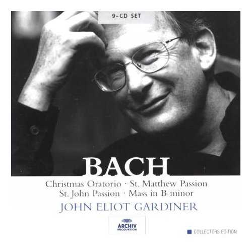 Gardiner: Bach - Sacred Vocal Works (9 CD box set, APE)