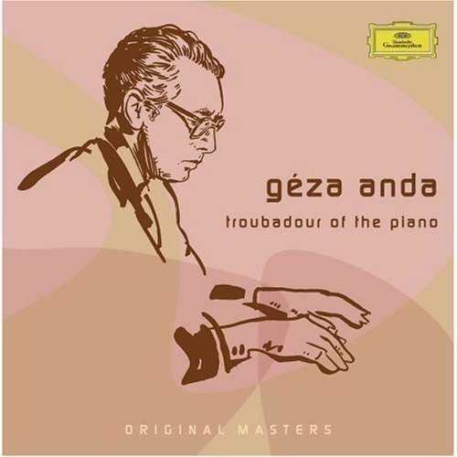Geza Anda - Troubadour of the Piano (5 CD box set, APE)