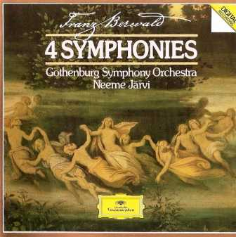 Jarvi: Berwald - 4 Symphonies (2 CD, APE)