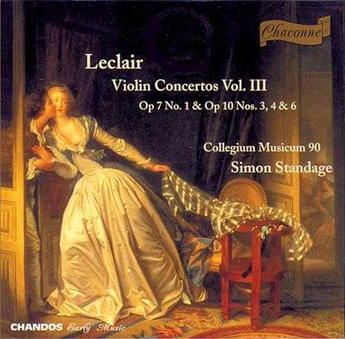 Jean-Marie Leclair - Violin Concertos (3 CD, FLAC)