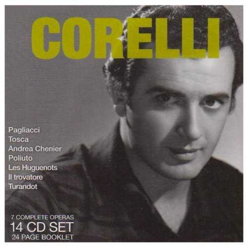 Legendary Performances of Corelli (14 CD box set, APE)