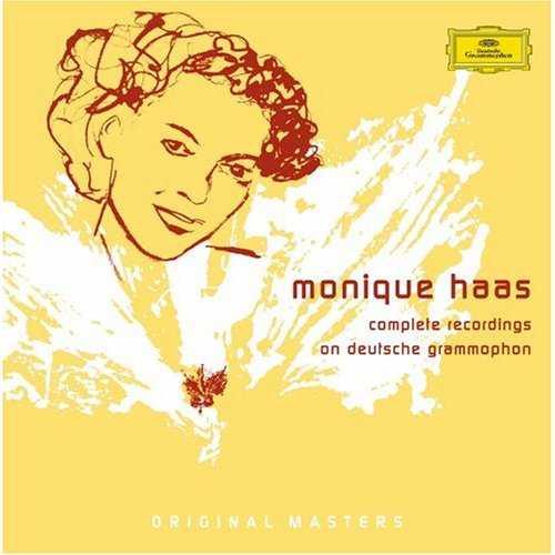 Monique Haas - Complete Recordings on Deutsche Grammophon (8 CD box set, APE)