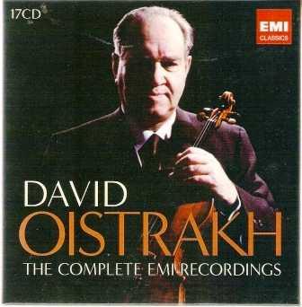 David Oistrakh - The Complete EMI Recordings (17 CD box set, FLAC)