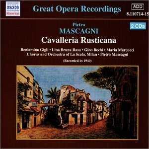 Mascagni - Cavalleria Rusticana (2 CD, FLAC)