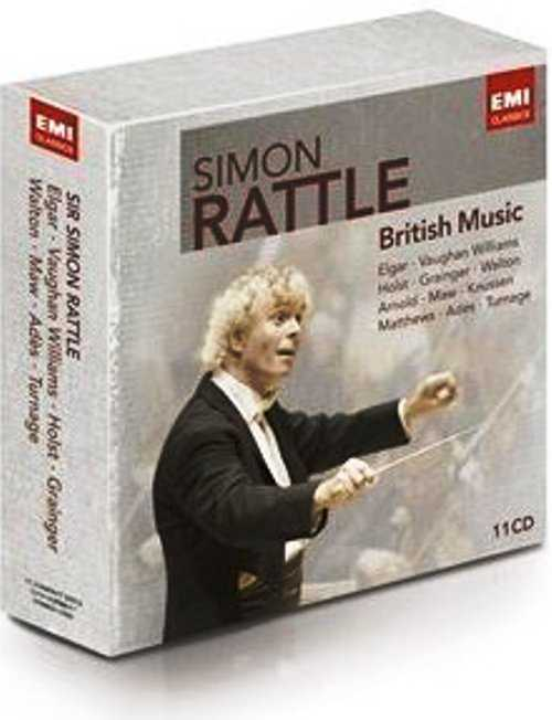 Simon Rattle: British Music (11 CD box set, FLAC)