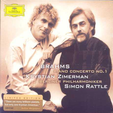 Rattle, Zimerman: Brahms - Piano Concerto no.1 (FLAC)