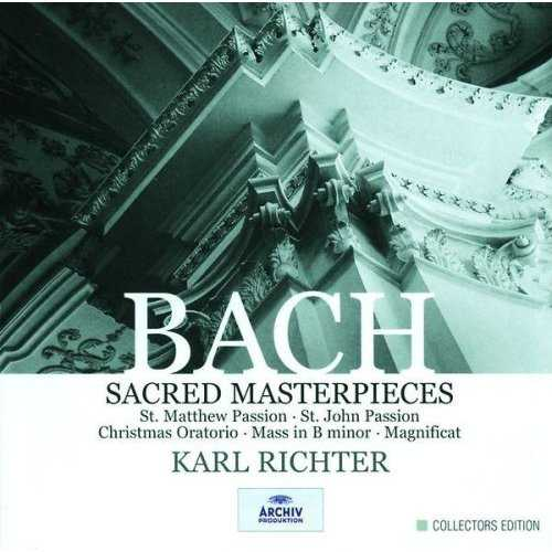 Richter: Bach - Sacred Masterpieces (10 CD box set, FLAC)