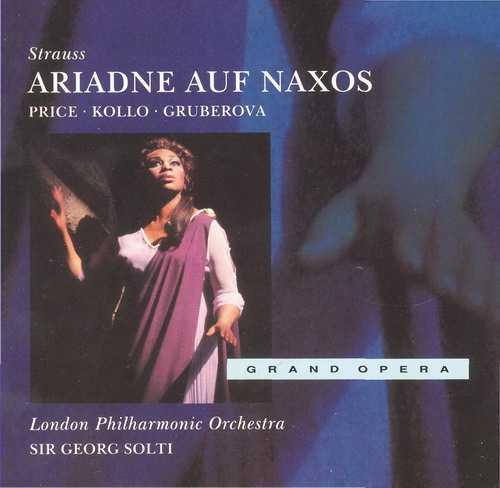 Solti: Strauss - Ariadne Auf Naxos (2 CD, APE)