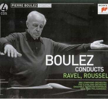 Boulez conducts Ravel, Roussel (4 CD box set, FLAC)