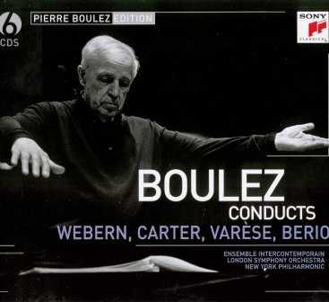 Boulez conducts Webern, Carter, Varese, Berio (6 CD, FLAC)