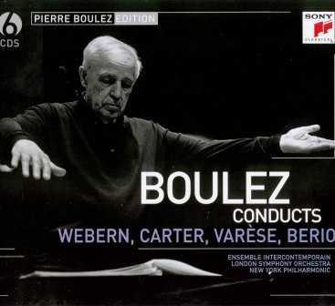 Boulez conducts Webern, Carter, Varese, Berio (6 CD, FLAC)