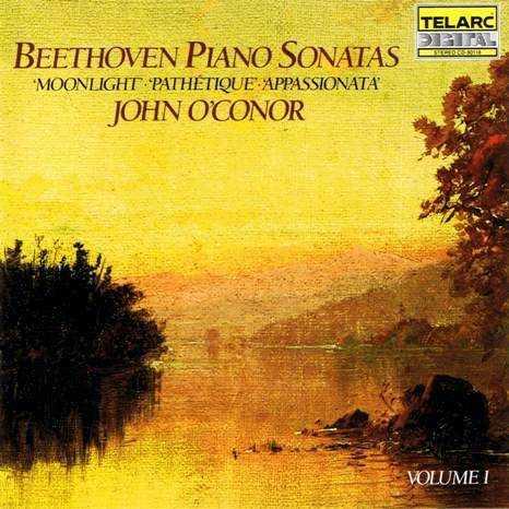 John O'Connor: Beethoven - The Complete Piano Sonatas (9 CD box set, FLAC)
